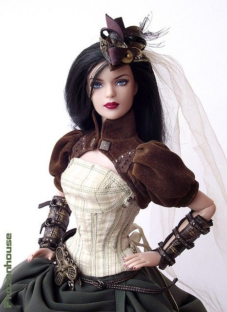Steampunk Barbie — yeah, this would get a pass...