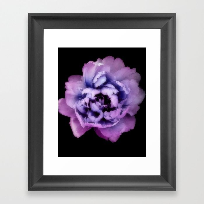 Purple Pantone Ultra Violet color of the year 2018. Choose from a variety of frame styles, colors and sizes to complement your favorite Society6 gallery, or fine art print - made ready to hang. Fine-crafted from solid woods, premium shatterproof acrylic protects the face of the art print, while an acid free dust cover on the back provides a custom finish. All framed art prints include wall hanging hardware.