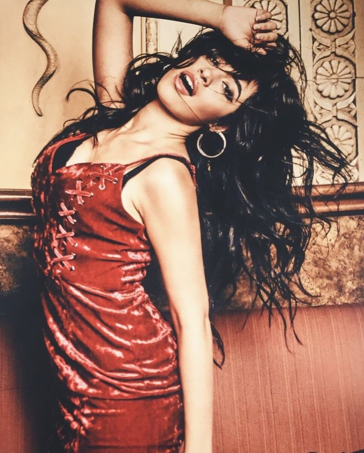 Camila for @GUESS' Holiday 2017 Campaign