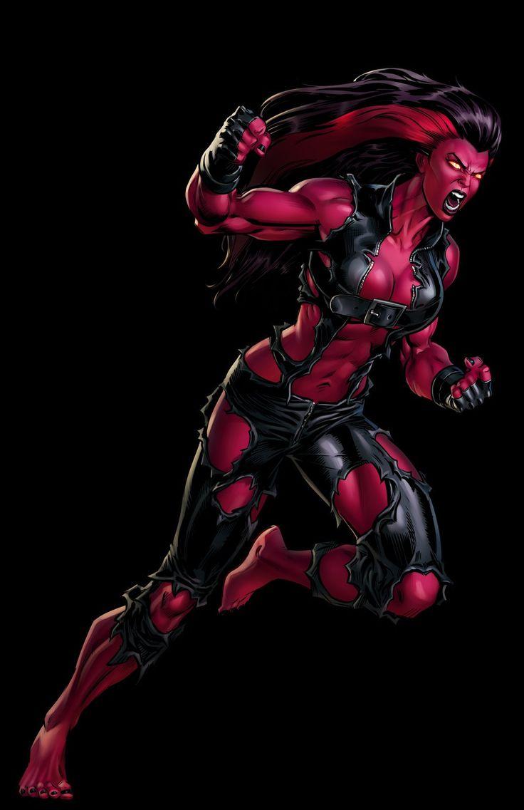 Red She-Hulk #Marvel: Avengers Alliance