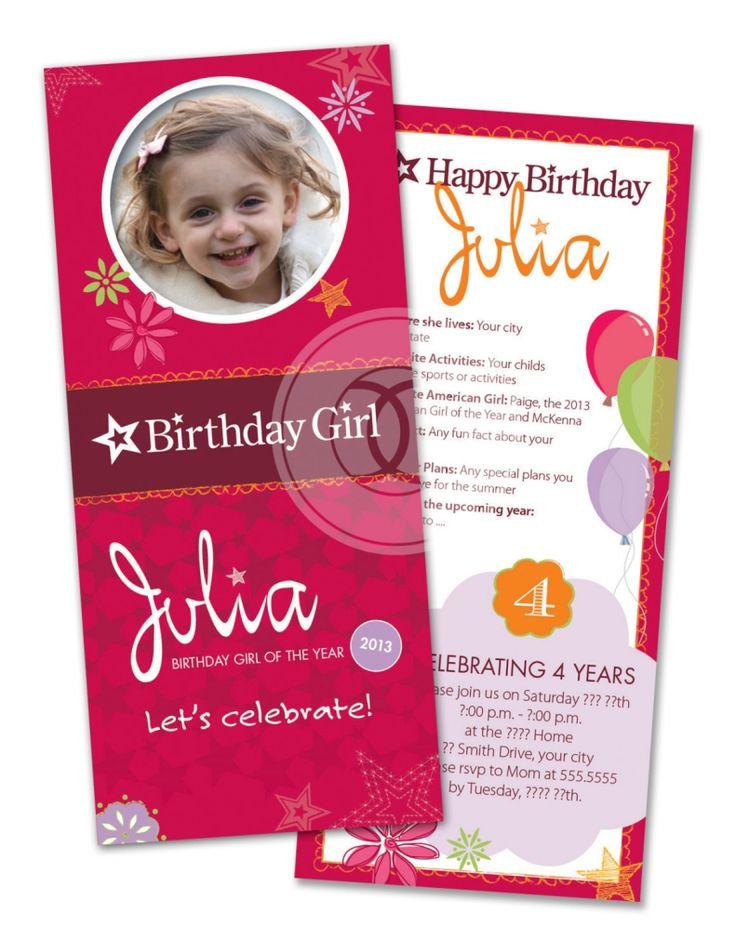Best 25+ Girl birthday invitations ideas on Pinterest | 1st ...