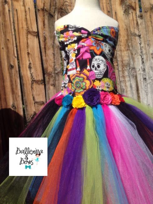 Día de las muertes tutu dress find us on Facebook and Instagram happy pinning