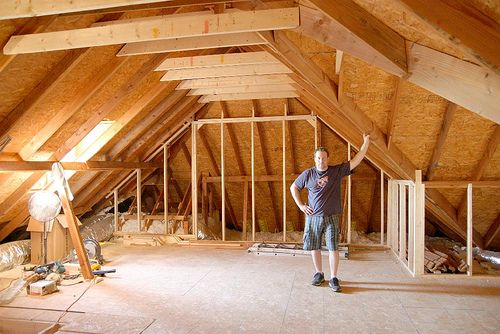 MattFlix Media Room Attic Theater Begins Construction - AVS   Home Theater Discussions And Reviews