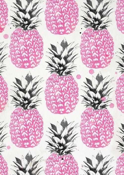 Pineapple print by Laine Fraser.