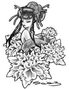 Resultados de la búsqueda de imágenes: dibujo de geishas - Yahoo Search