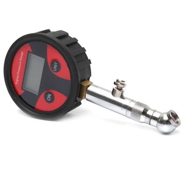 0-200PSI Metal Digital LCD Tire Air Pressure Gauge Tester PSI BAR KPA KGF/cm² Sale - Banggood.com