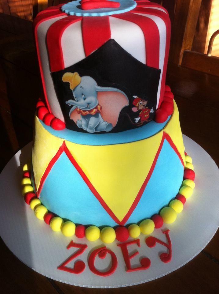 Dumbo Edible Cake Topper