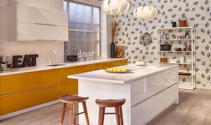 Messi Cruickshank's design in Ikea's House of Kitchens competition