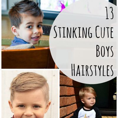 Take a peek at these 13 cute boys hairstyles that your little dude can totally rock!