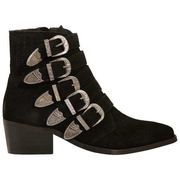 Puk black suede støvler fra Pavement