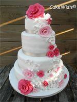 Op 3 mei 2013 trouwden Radboud & Karina in de Coendersborg te Groningen. Ze hebben gekozen voor een romantische taart met rozen.