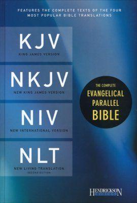 The Complete Evangelical Parallel Bible KJV, NKJV, NIV & NLTse Hardcover