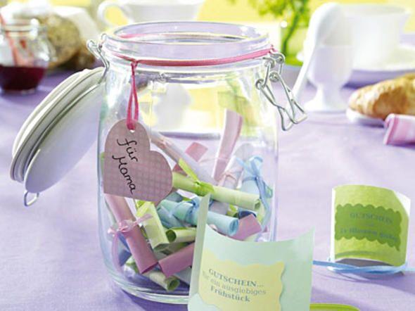 Muttertagsgeschenk-Ideen zum Selbermachen