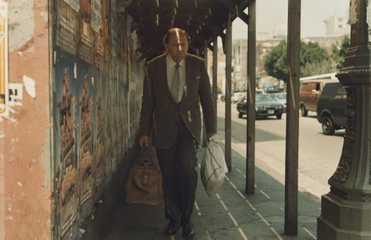Philip-Lorca diCorcia: New York 1994. The aspect of this image I found inspiring was the framing. I appreciate how the man walking down the street has been framed by the poles on thee right and the building wall on the left which then draws focus onto the man as  it gives the image a tunnel like feel.