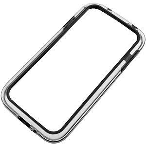 TPU Bumper for Samsung Galaxy S 4, Black/Clear