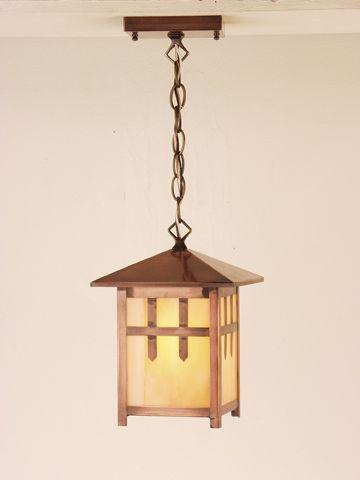 136 best arts crafts movement images on pinterest for Modern craftsman lighting