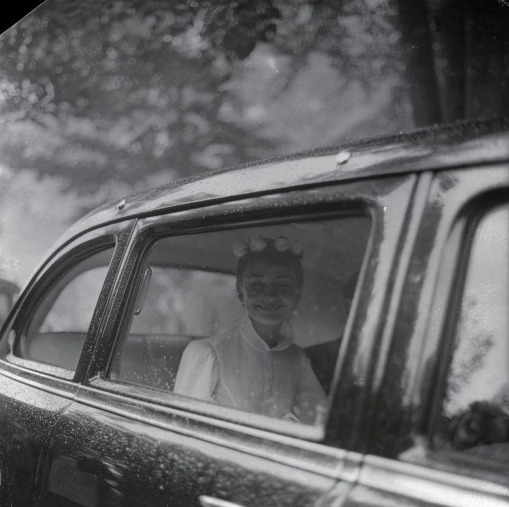 24.9.1954. Свадьба Одри Хепберн и Мела Феррера в часовне на Бюргенштоке