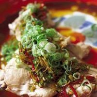 STEAMED CHICKEN WITH HOT & SOUR DIPPING SAUCE by Kylie Kwong - My China