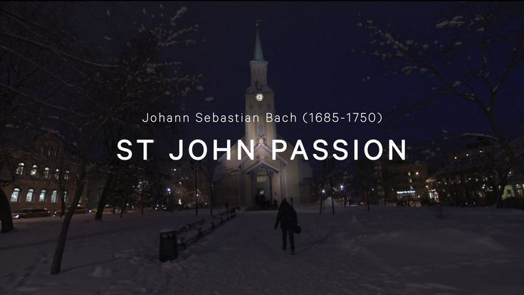 BACH - St. John Passion - 1 CORO  The Arctic Philharmonic Chamber Orchestra conducted by Herbert Böck, live at the Tromsø Cathedral