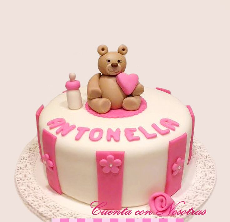 Torta baby shower Torta osita Baby Shower Cake