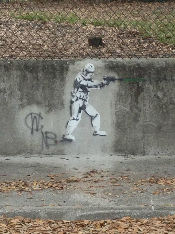 graffiti done rightDroid You R, Stars Wars