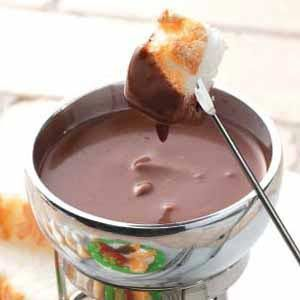 100 Chocolate Fondue Recipes On Pinterest Easy