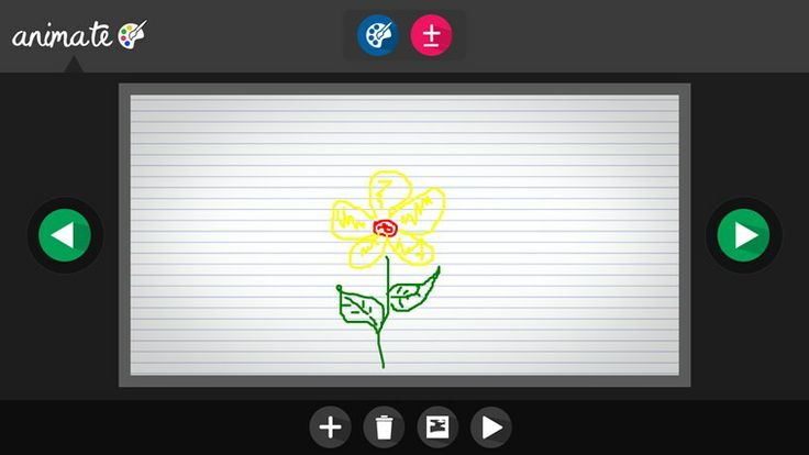 Create Animate app // Description Create graphics and animate them! Have fun!