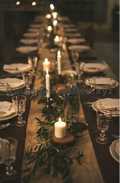 Tischdeko Hochzeit – Ok, ich fange früh an, aber das ist etwas, worüber du besser nachdenken solltest