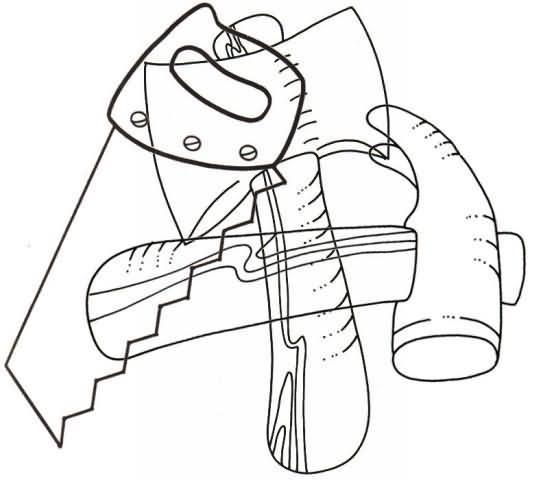 Actividades para niños preescolar, primaria e inicial. Plantillas didacticas con dibujos entrelazados para imprimir orientadas a niños de preescolar y primaria. Dibujos entrelazados. 14
