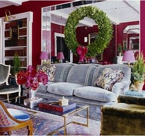 67 best images about decorating w mirrors glass at for Elle decor christmas tree