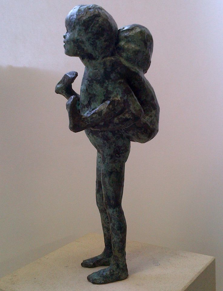 'Piggyback' by Alison Bell available at www.creativeartsgallery.com