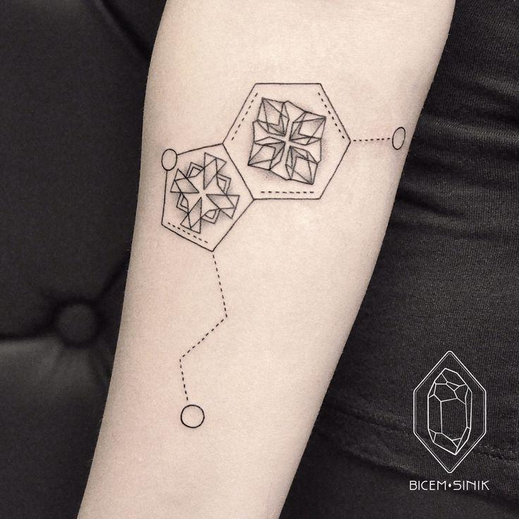 My very first seratonin tattoo <3