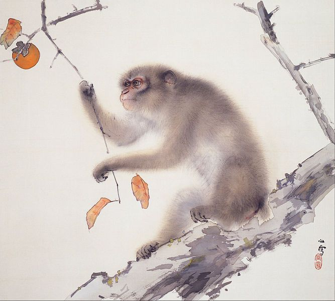 Hashimoto Kansetsu (1883 - 1945)  - Monkey - Google Art Project.jpg