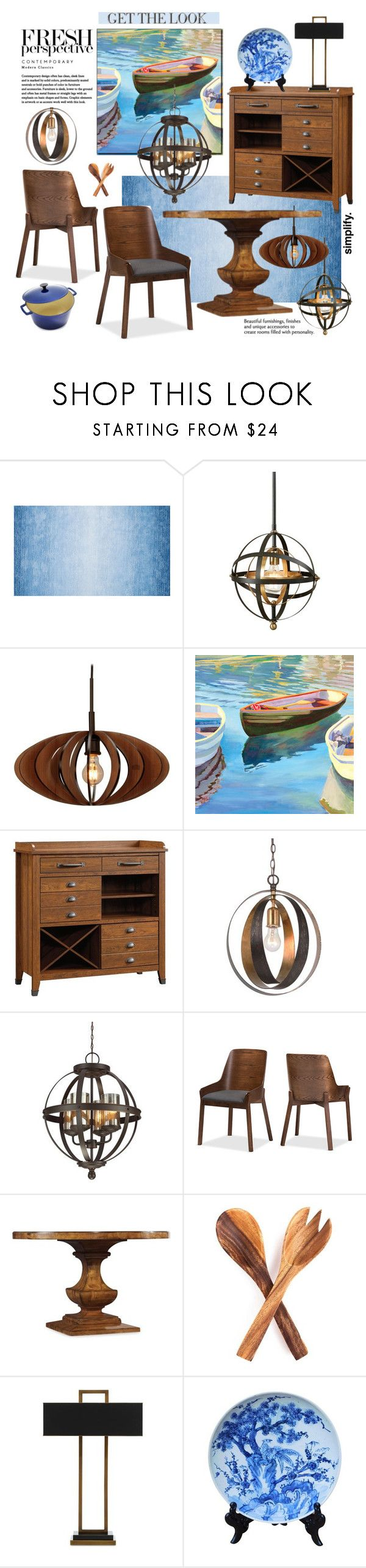 """""""Trending Lighting for 2018"""" by esch103 ❤ liked on Polyvore featuring interior, interiors, interior design, home, home decor, interior decorating, Uttermost, Woodbridge Lighting, Crystorama and Sea Gull Lighting"""
