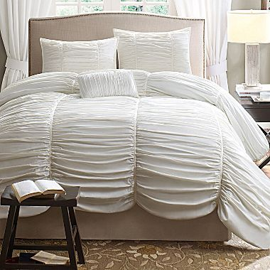 Avila 4-Piece Duvet Cover Set - jcpenney. I am being allowed to *kinda* do over our bedroom...