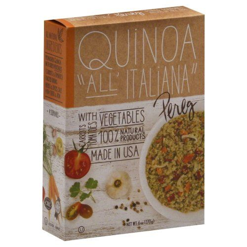 Quinoa Ital Style Sm (Pack of 6). Always Check The Actual Product Label In Your Possession For The Most Accurate Ingredient Information Before Use. Upc 813568001781 Pack Of: 6. For Any Health Or Dietary Related Matter Always Consult Your Doctor Before Use. Quinoa Ital Style Sm 6 OZ (Pack Of 6).Note: This Product Description Is Informational Only.