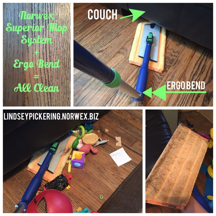 #34The ErgoBend is an attachment you can add to the mop handle to help reach under areas that are normally hard to get to. It gives and extra reach under couches, furniture, and appliances to grab that extra dirt or lost items.