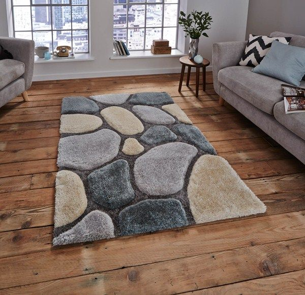 Noble house rugs nh 3545 in cream blue buy online from the rug seller uk