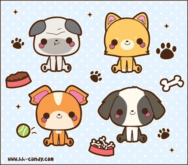 Puppy Friends by A-Little-Kitty.deviantart.com on @deviantART