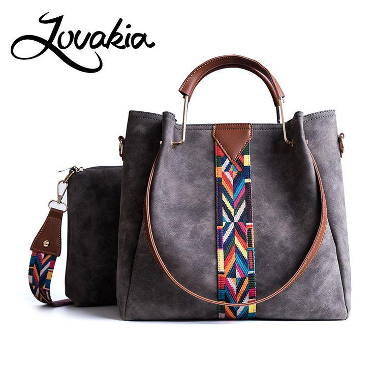 Promo LOVAKIA vrouwen lederen handtassen emmer schoudertassen dames  crossbody tassen grote capaciteit boodschappentas Bolsa zwart/