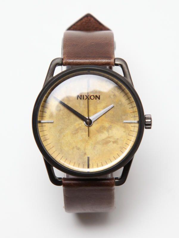 nixon mellor wrist watch in oxide