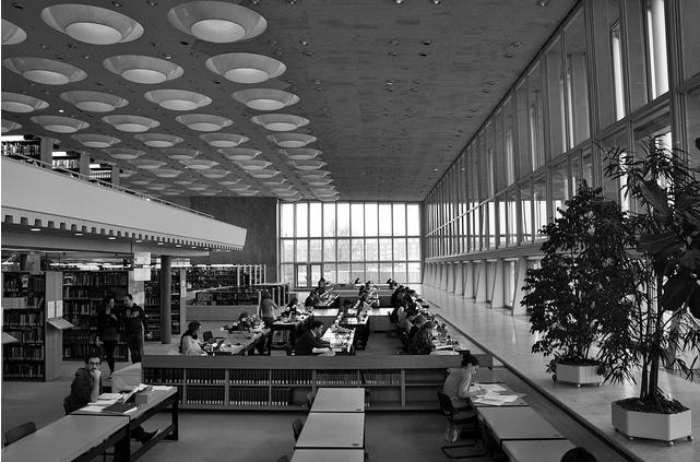 HANS SCHAROUN _ Biblioteca Nacional, BERLIN, 1978