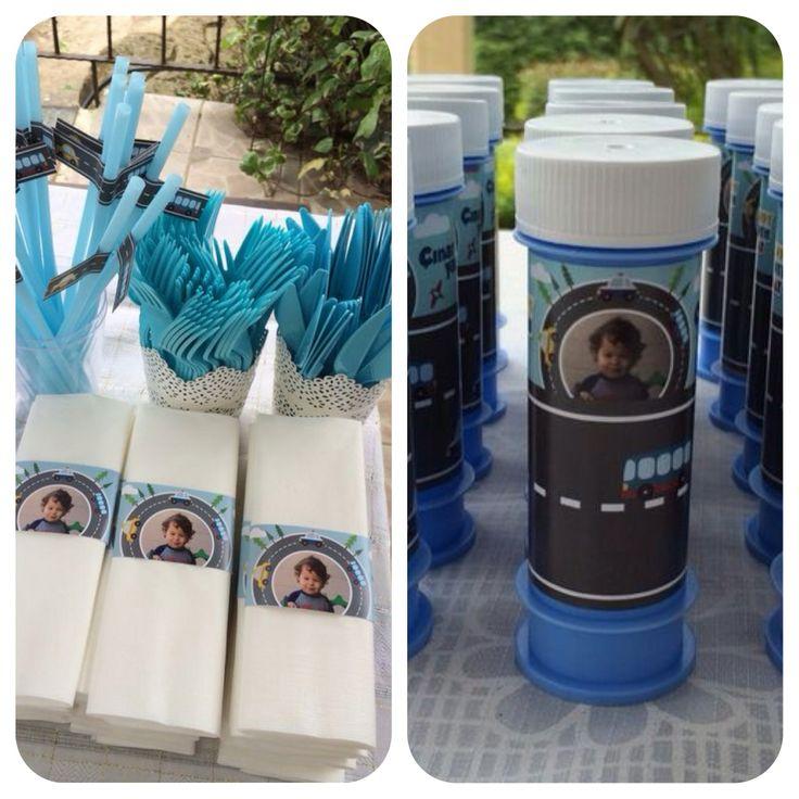 Detaylar... Ayrıca küçük misafirlerimiz için Çınar'ın hediyesi baloncuk şişeleri :)