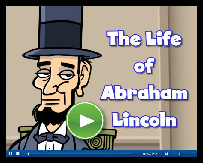 Abe Lincoln video by Scholastic