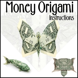 money origami instructions