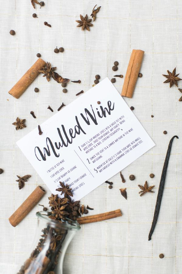 DIY Mulled wine kit, perfect for holiday gifting: http://www.stylemepretty.com/living/2015/12/03/hostess-gift-diy-mulled-wine-kit/ | Photography: Ruth Eileen Photography​ - http://rutheileenphotography.com/