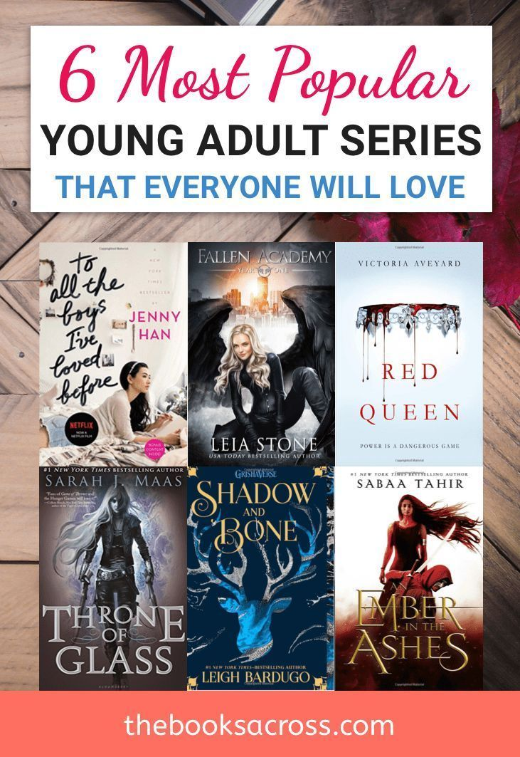 6 Most Popular Young Adult Sagas   Bookworms in love   Ya