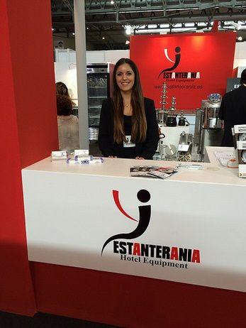 Nuestra azafata para Hostelco #eventhunters #azafata #azafatas #feria #eventos #barcelona #imagen #hostelco #2014