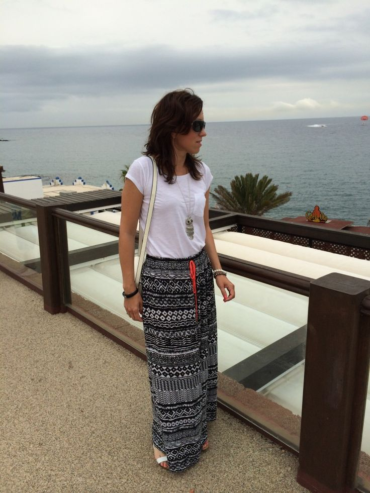 Maxi skirt in our set