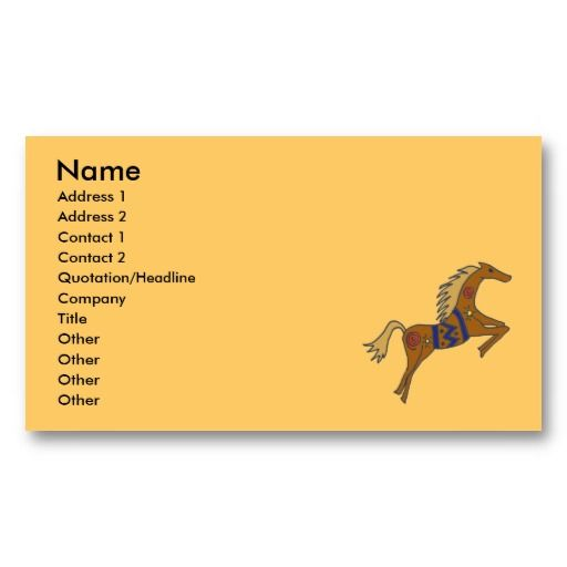 19 best native american business cards images on pinterest bz galloping horses business card business card business cardsnative americanshorseslipsense colourmoves Choice Image
